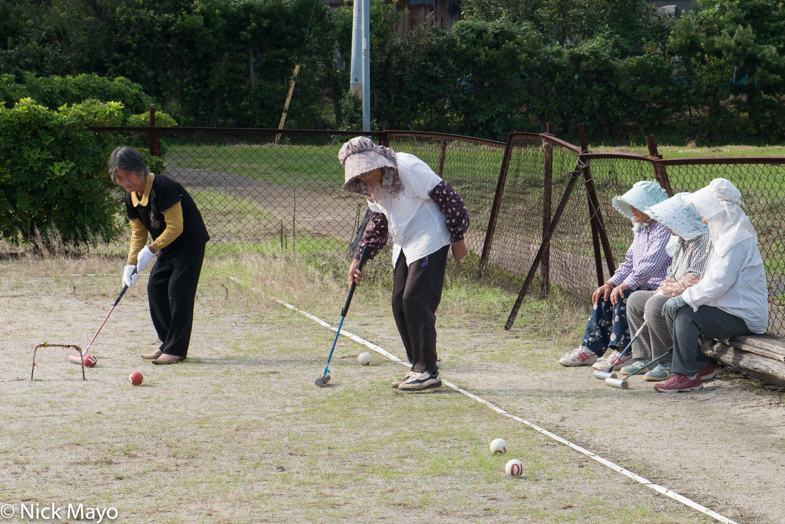 Croquet, Japan, Kyushu, photo