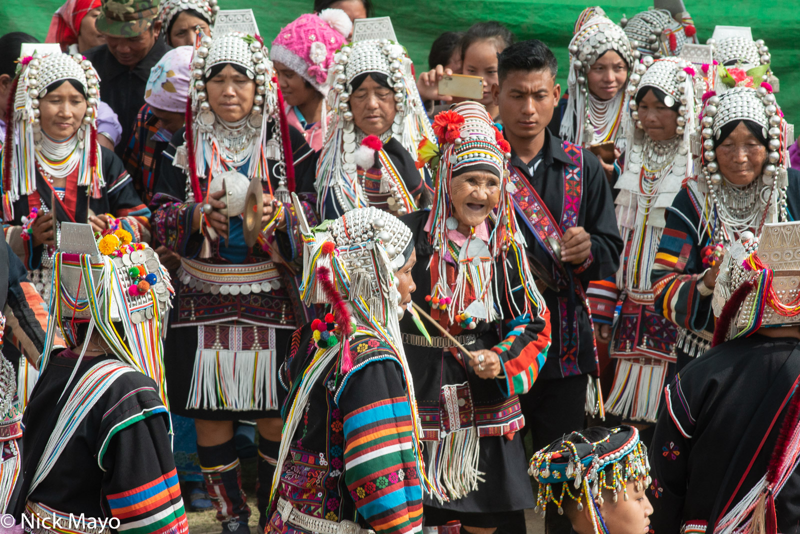 Burma, Cymbals, Festival, Hani, Shan State, photo