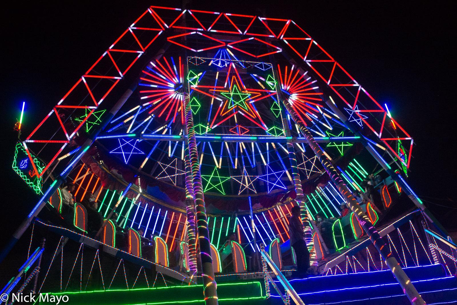 Burma, Fairground Ride, Festival, Shan State, photo