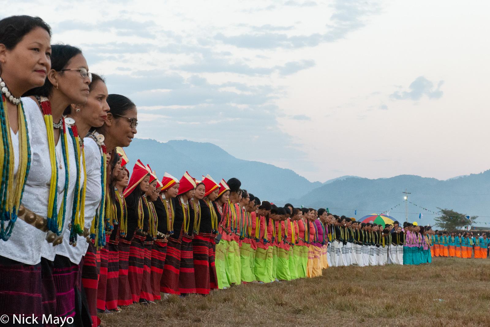 Adi, Arunachal Pradesh, Dancing, Festival, Galo, India, photo
