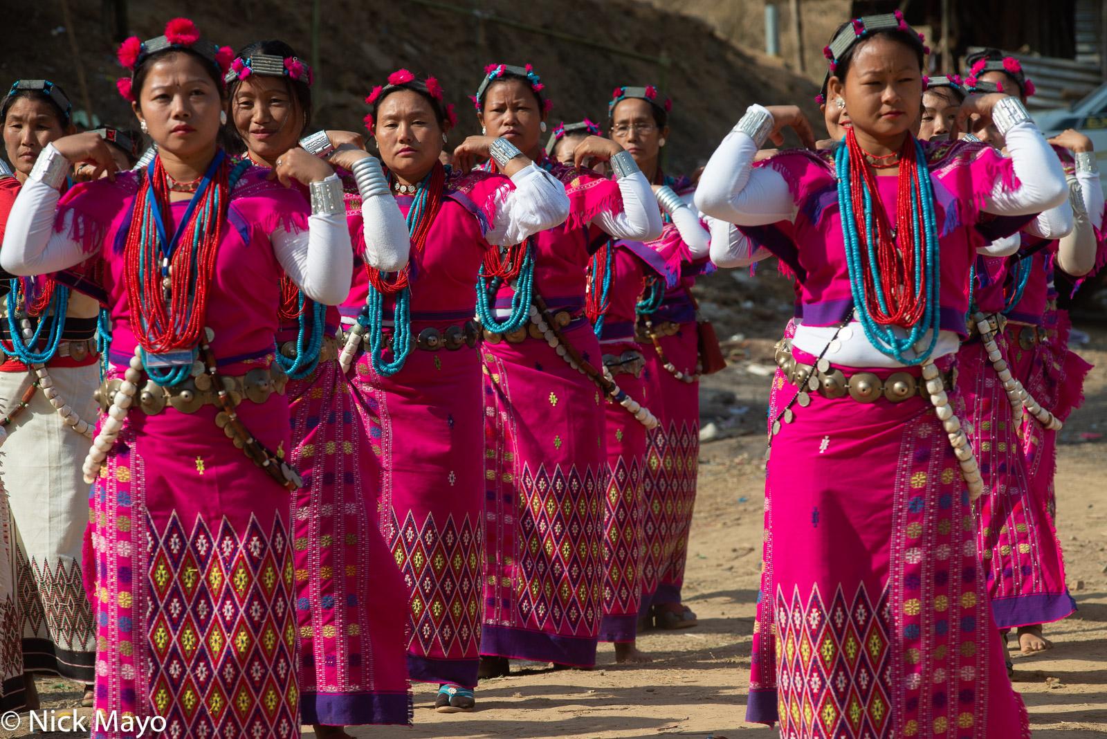 Arunachal Pradesh, Dancing, Festival, India, Nyishi, photo