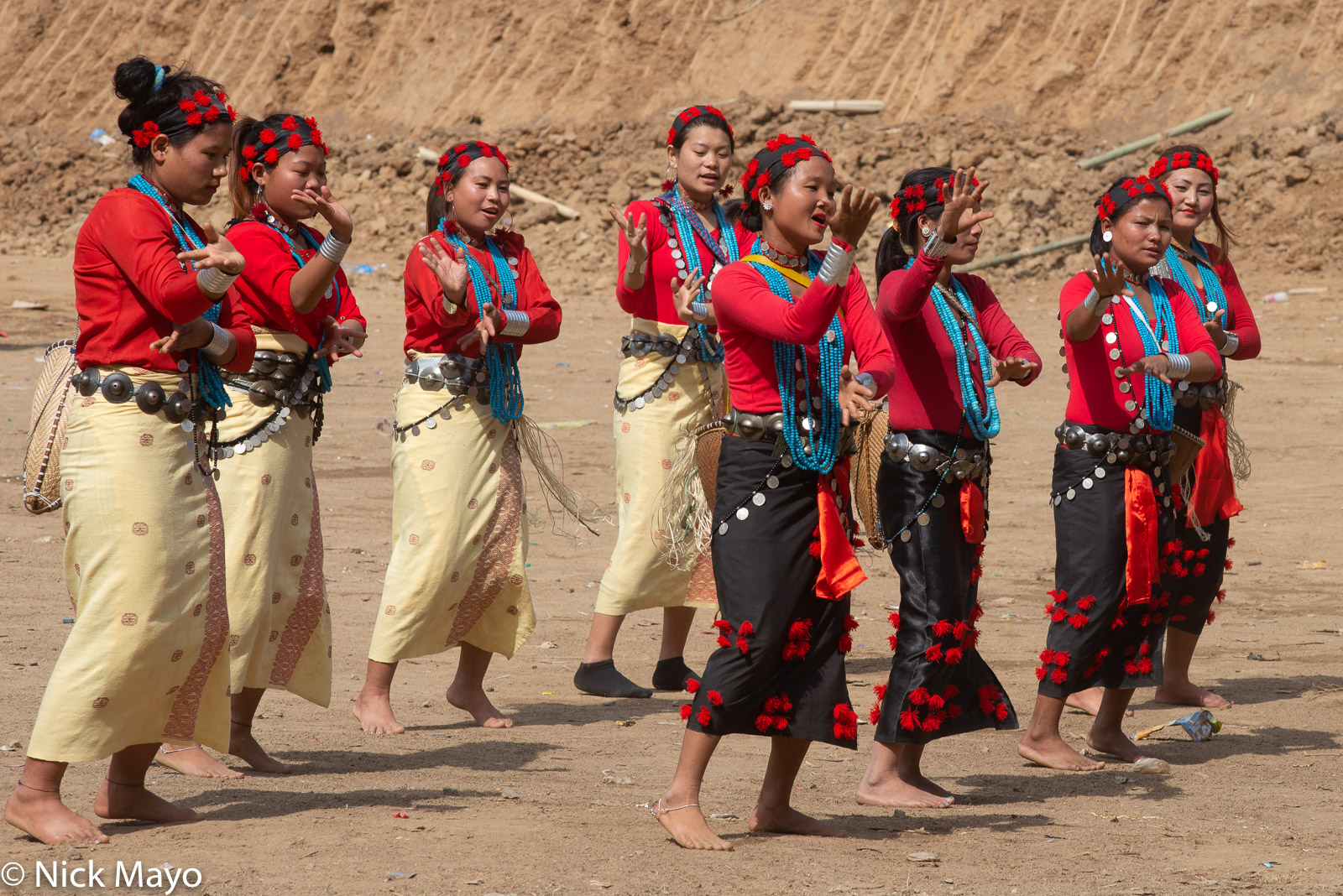 Arunachal Pradesh, Dancing, Festival, India, Nyishi, photo