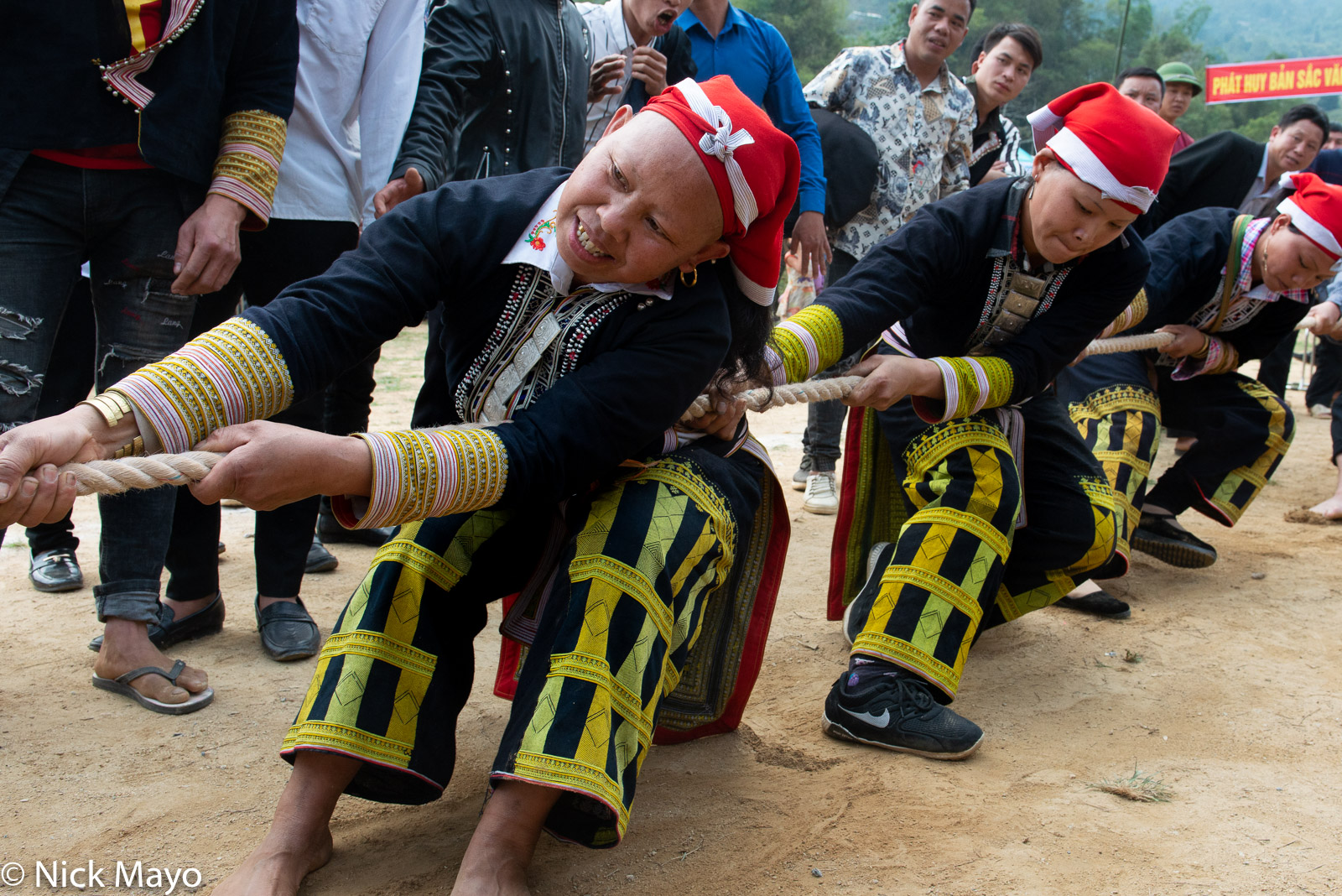 Festival, Lao Cai, Tug Of War, Vietnam, Yao, photo