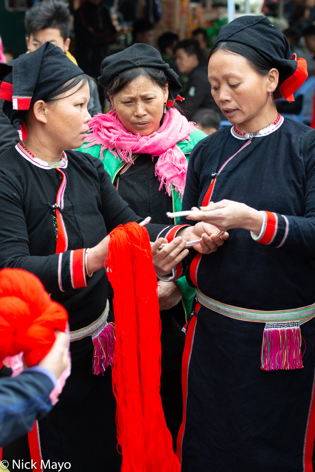 Cao Bang, Market, San Chay, Shopping, Vietnam, Yarn, photo