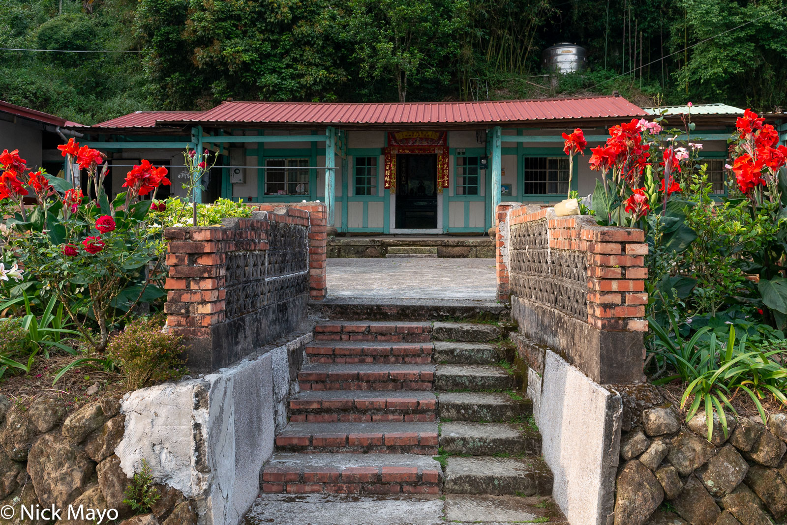 A tea farmer's traditional residence at Ruili in Chiayi County.