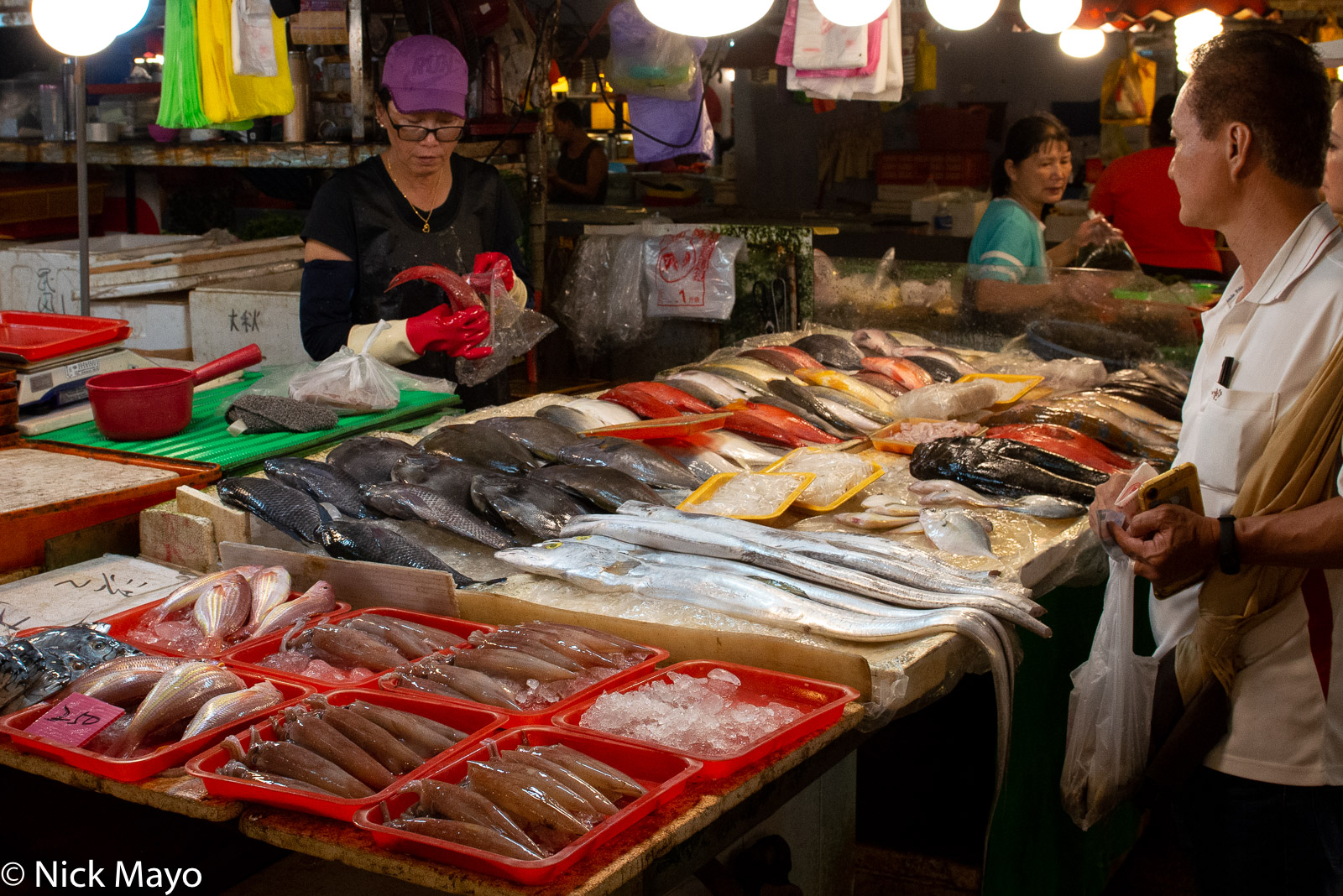 Market, Selling, South, Taiwan, photo